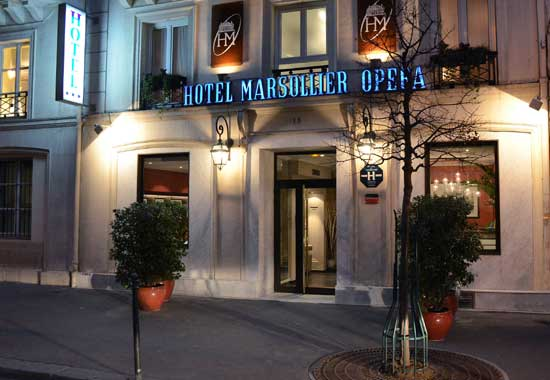 elysees opera hotel paris